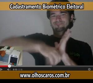 biometria eleitorial